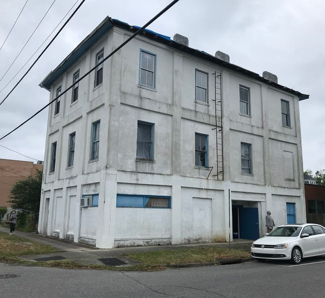 Giblem Lodge at 720 Princess St. in Wilmington. Built in 1871, the structure is an important part of Wilmington's Black community and a vital link to Wilmington's history. The Historic Wilmington Foundation is now working to preserve the building.