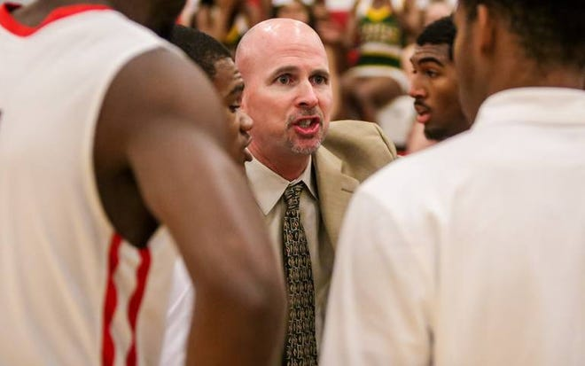 After a successful coaching stint in North Carolina, South Carolina and Georgia, which included two state championships, Ty Baumgardner will return to the bench next year as Topeka High's boys basketball coach. He came to High last year as its new athletic director.