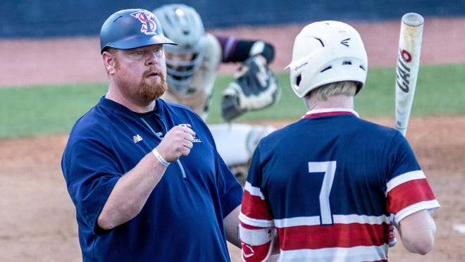 Terry Sanford coach Sam Guy notched the 300th win of his coaching career on Tuesday night.
