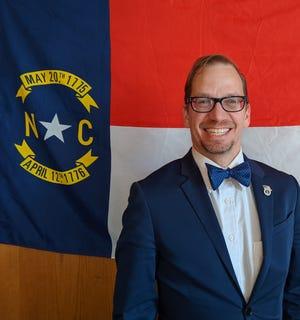 Mebane City Councilman Sean Ewing