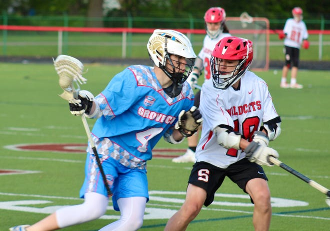 Grove City senior Drew Donahue plays midfielder and attacker for the Grove City Lacrosse Club high school team. The club hopes to eventually get lacrosse sanctioned by South-Western City Schools.