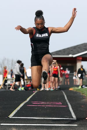 """Whitehall-Yearling senior Ry'YairSmith is winding down a prep career that saw her compete for the Rams in track and field, softball, basketball and soccer. """"I like all sports,"""" she said. """"Just whatever season it is, I prepare for it and I'm ready to play."""""""