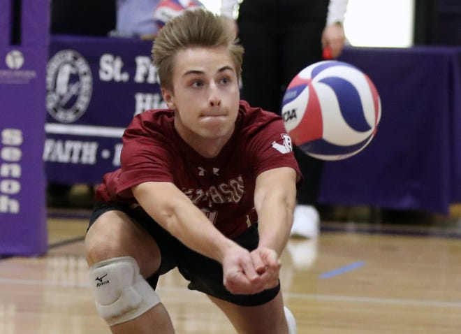 Senior setter Jake Maziarz and Watterson open the Division II postseason May 21. Maziarz is the only key returnee from the Eagles' 2019 team, which was the state runner-up.