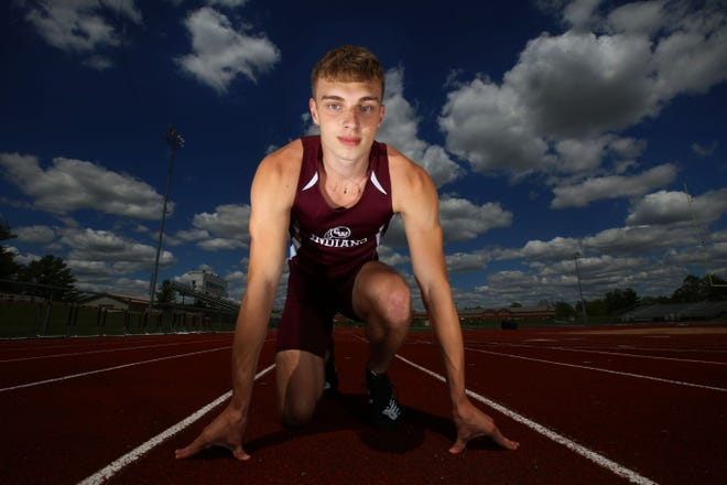 Canal Winchester junior Dylan Randall was ranked firstin the state in the 100, fifth in the 200 and was a part of the top-ranked 800 relay as the Indians entered the Division I postseason.