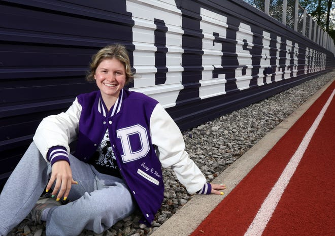 Upon the conclusion of track and field season, senior Gracey Wilson will become the fourth female athlete in DeSales history to earn 12 varsity letters. She will graduate with four letters in basketball, three in both cross country and track and two in soccer.