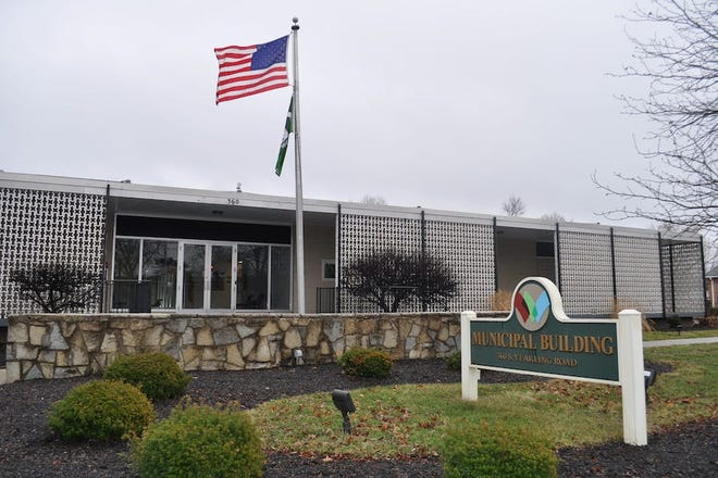 The Whitehall Municipal Building is at 360 S. Yearling Road.