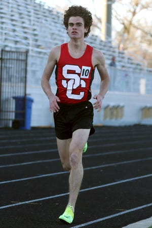 St. Charles senior Owen Karas entered the Division I postseason having won the 800 (1:57.04), 1,600 (4:21.28) and 3,200 (9:39.23) in the CCL meet May 10 and 12 at DeSales.