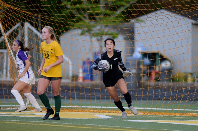Reynolds soccer goalkeeper Grace Laws has committed to The Citadel.