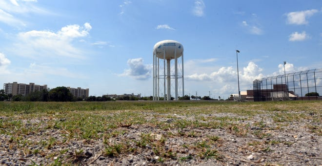 File photo of a water tower.
