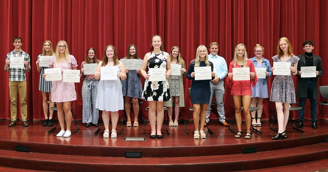 The Galion Community Foundation presented more than $43,000 in local scholarships to seniors during a special presentation and reception on May 11.
