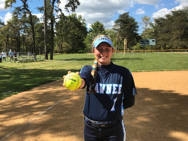 Shawnee's Bryele Anthony has fit perfectly atop the team's batting order and in center field. She keyed Wednesday's win over Cherokee with three hits, two runs scored and six put-outs.