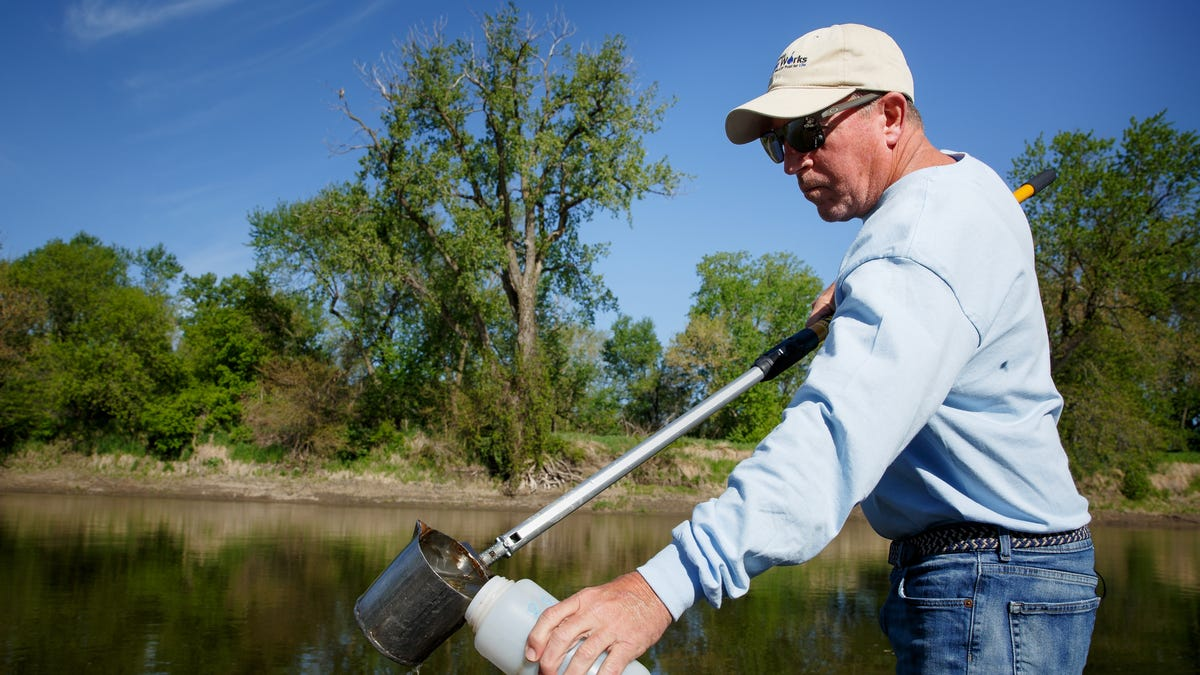 Photos: Low river levels concern Des Moines Water Works heading into summer