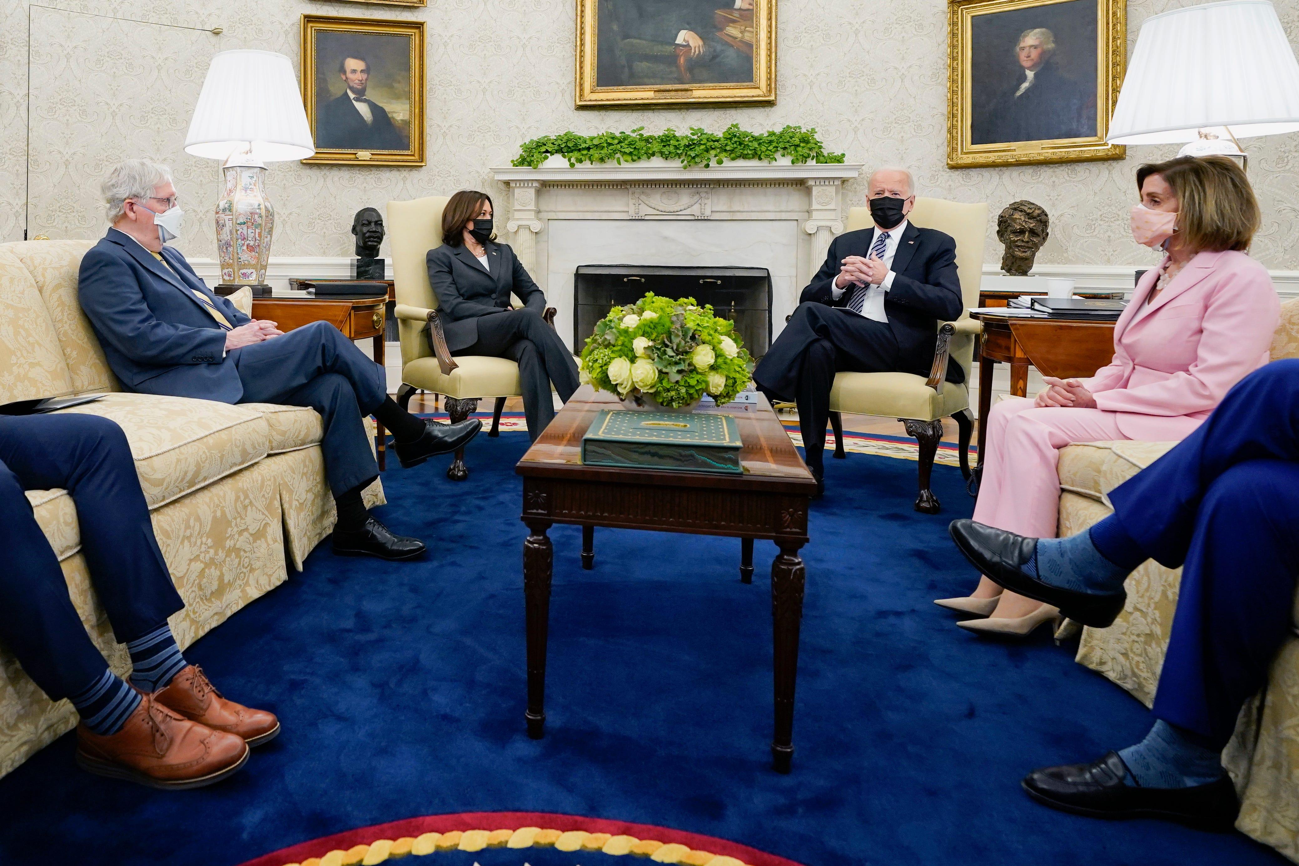 Biden and Congress face a summer grind to create legislation 2