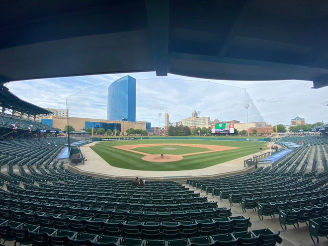 The Indianapolis Minor League Baseball Team played its first game at Victory Field in 619 games