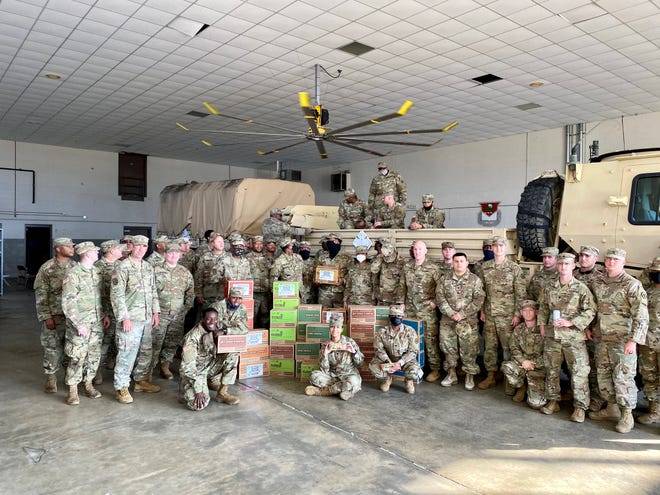 Girl Scouts of Southern Alabama made a cookie donation to Maxwell Air Force Base.