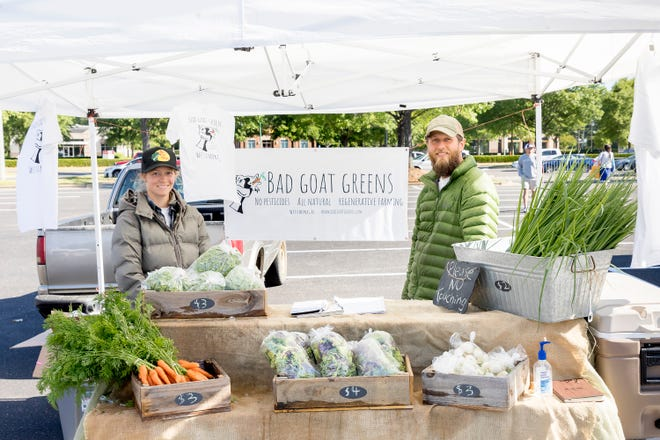 The Shoppes at EastChase Farmers Market has added vendors and moved to a new location for its May 15 grand opening. The Market will be located next to H&M, where Bad Goat Greens, Binti's Bakery, Incredible Health, and Treasured Tropicals will be serving customers. The Market opens at 7 a.m. and concludes at noon.