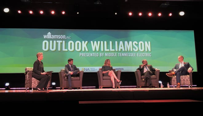 Audiences at Williamson Inc.'s 8th annual Outlook Williamson event heard from local economic development industry leaders on trends and forecasts for the county's future.