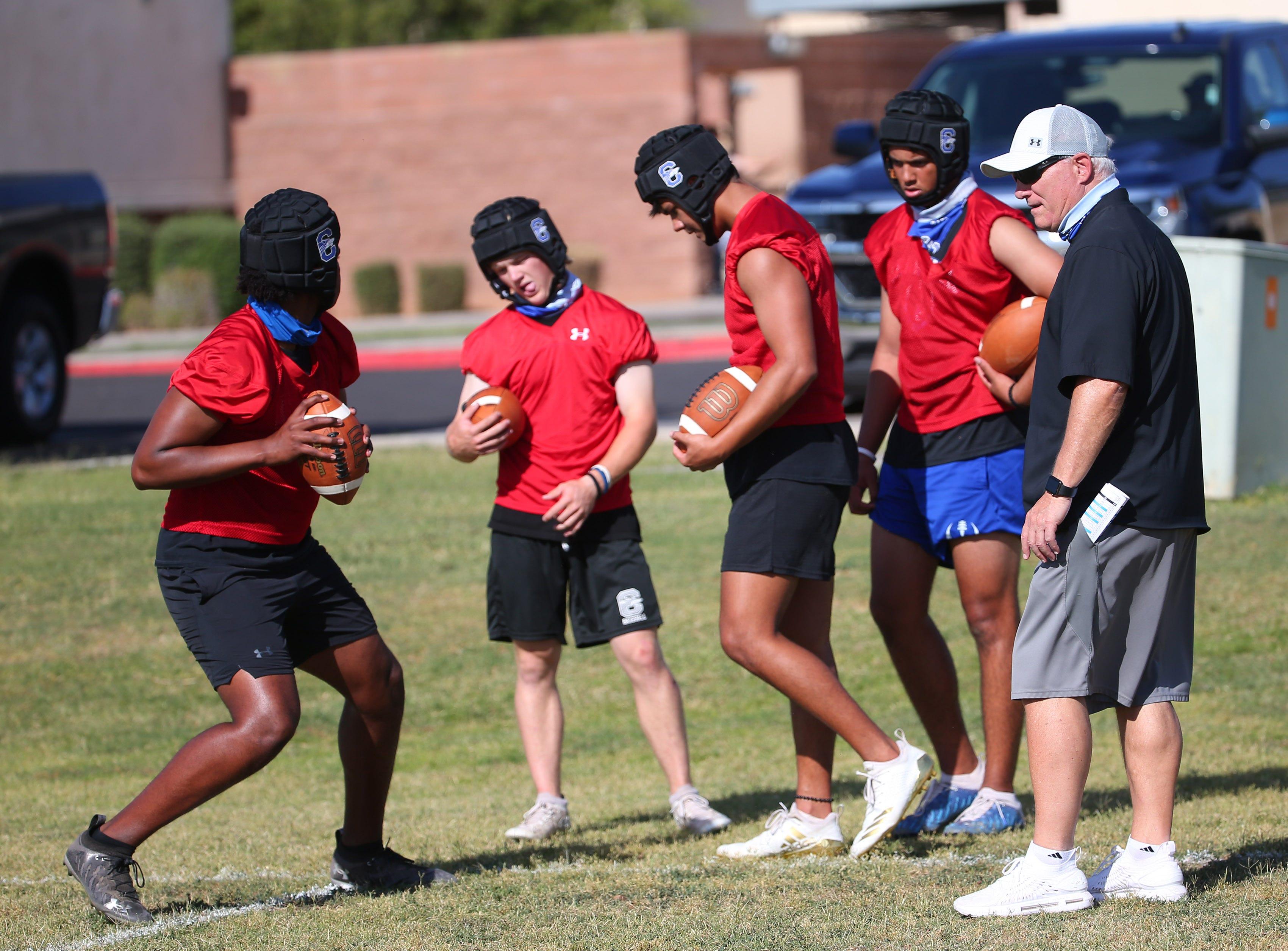 Big quarterback battle being held during Chandler spring football