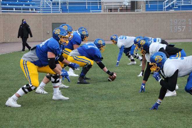 SDSU's offensive line has been a strength of the team this year