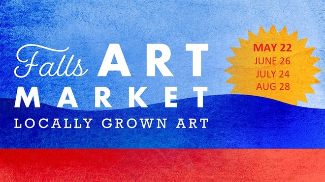 Falls Art Market will kick off the 2021 season on May 22 with a slate of free events for all ages