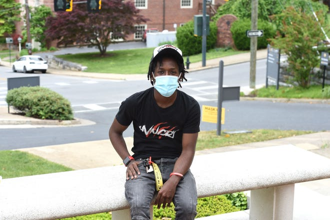 Jamal Carter, a Mary Baldwin University junior, began his own clothing line with the encouragement of MBU's office of personal and professional development.