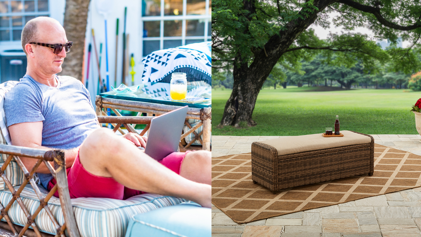Working from outdoors is the new WFH—here's how to get yourself set up