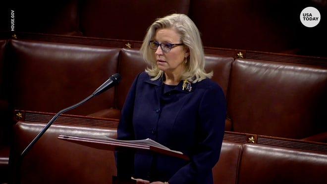 Rep. Liz Cheney gives passionate speech on House floor regarding Trump's influence