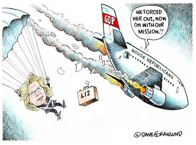 Cheney parachute
