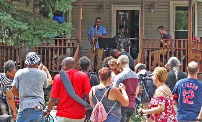 Highland Square's annual PorchRokr Music and Art Festival is set for Aug. 21.