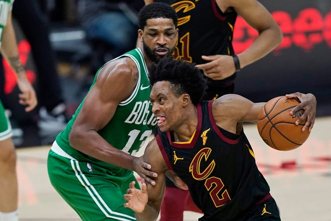 Collin Sexton isn't worried about where the Cavaliers end up in the NBA Draft lottery. He just wants to win games. [Tony Dejak/Associated Press]