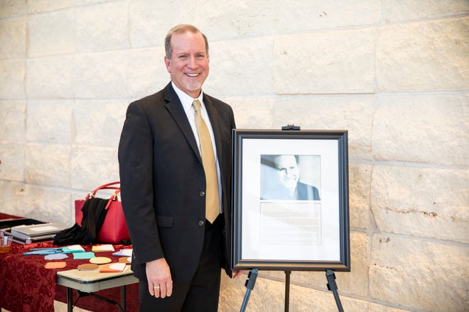 Royal Brantley was recently honored at the Branding Iron Theatre Hall of Fame ceremony at West Texas A&M University.