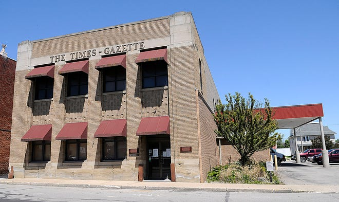 The Ashland Times-Gazette is in contract to sell its building at 40 E. Second St. The publication of a daily newspaper and 24/7 news at Times-Gazette.com will continue as it always has.