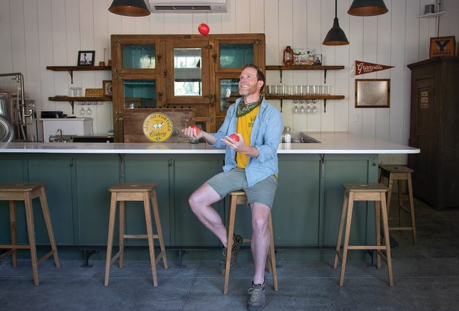 Trent Beers is opening Seek-No-Further Cidery in downtown Granville.