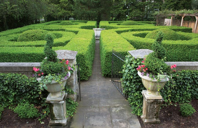 Formal gardens on a Bexley estate have been refurbished and updated over the last decade.