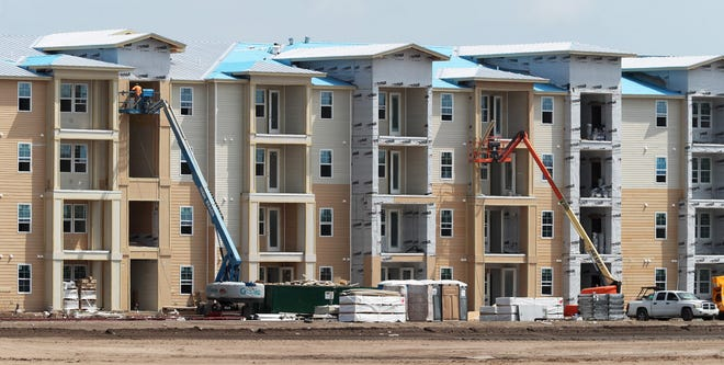 Daytona Beach city commissioners are going to vote Wednesday night on a deal that would exchange a deep property tax slash for creation of 216 new affordable housing apartments on a site near Clyde Morris Boulevard and LPGA Boulevard.