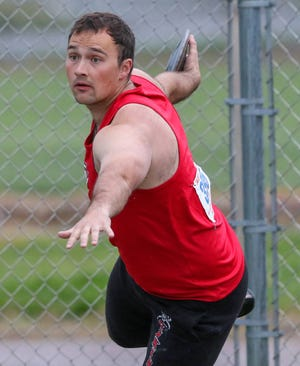 Niles Siefken, a junior on the Grand View University men's track and field team, finished second in the discus at the conference meet.