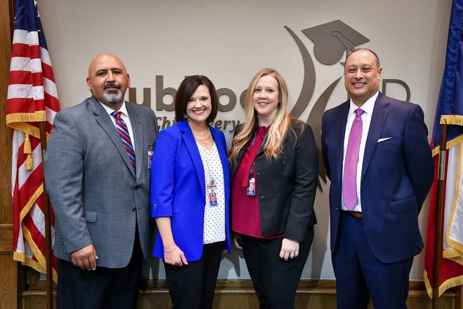 From left to right: Vince Garcia, Kelli Archer, Erin Gregg, and Ken Casarez