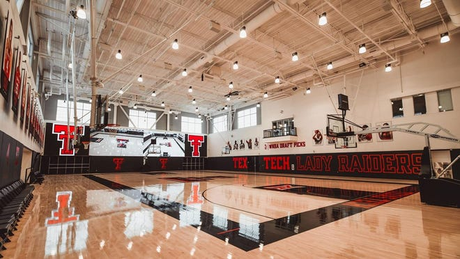 The Dustin R. Womble Basketball Center, a state-of-the-art $32.2 million facility that will be the new home to the Texas Tech men's and women's basketball programs.
