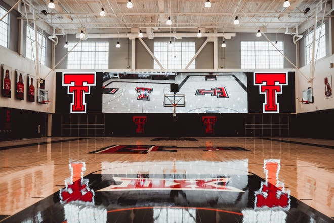 The Dustin R. Womble Basketball Center, a state-of-the-art $32.2 million facility that will be the new home to the Texas Tech men's and women's basketball programs. The ribbon cutting was held Thursday afternoon.
