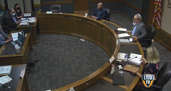 The Lubbock ISD Board of Trustees met Thursday morning.