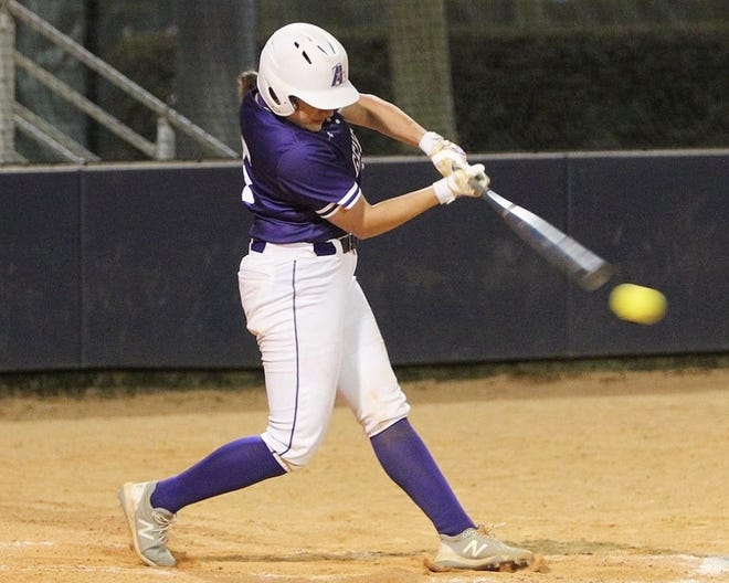 McNeese State standout Haylee Brinlee and LSU-Alexandria star Lauryn McMahon were both named first-team all-conference, representing Rosepine High School at the collegiate level.