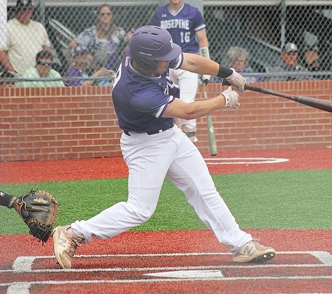 Rosepine's Grant Ducote had four hits and two RBIs in leading the Eagles to a 9-5 win over Mangham on Wednesday and a spot in Friday's Class 2A finals against Doyle.