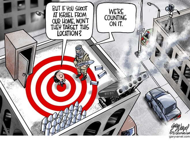 Today's editorial cartoon (May 14, 2021)