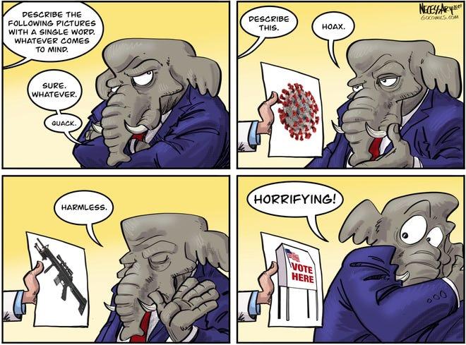 A Kevin Necessary cartoon
