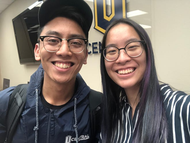 University of Central Oklahoma students Kyle Tangco, a senior professional media major from Edmond, and Amanda Siew, a professional media major from Petaling Jaya, Malaysia, placed second at the Broadcast Education Association's annual Festival of Media Arts competition.
