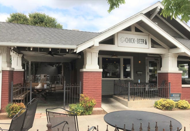 Chick-N-Beer in Oklahoma City's Uptown district specializes in hot wings with Vietnamese flair and local beer on tap.
