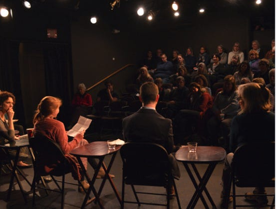 """On Thursday, May 20 at 7 p.m., Seacoast Mental Health Center and New Hampshire Theatre Project will present a reading of the play """"A Wider Circle"""" by Mary Ellen Hedrick, and a community discussion on the topic of The Opioid Crisis Effect on Families."""