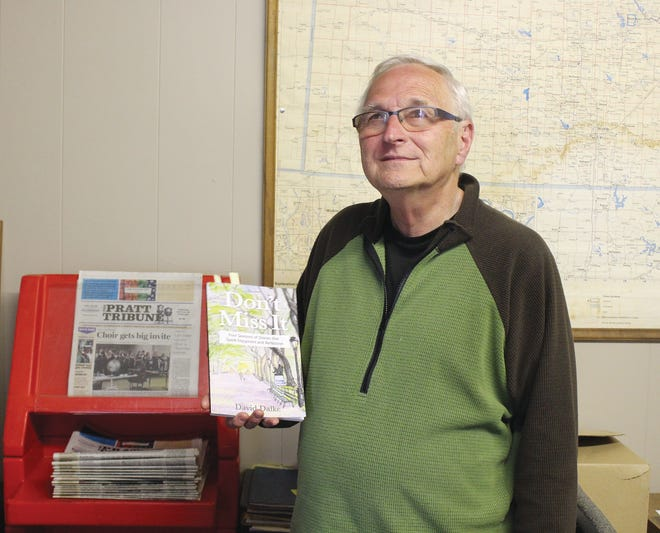 David Dalke, also known as Deacon Dave to some in the Pratt community, stopped in at The Pratt Tribune office last week to talk about his new book, 'Don't Miss It' and the stories in it about local people and experiences.