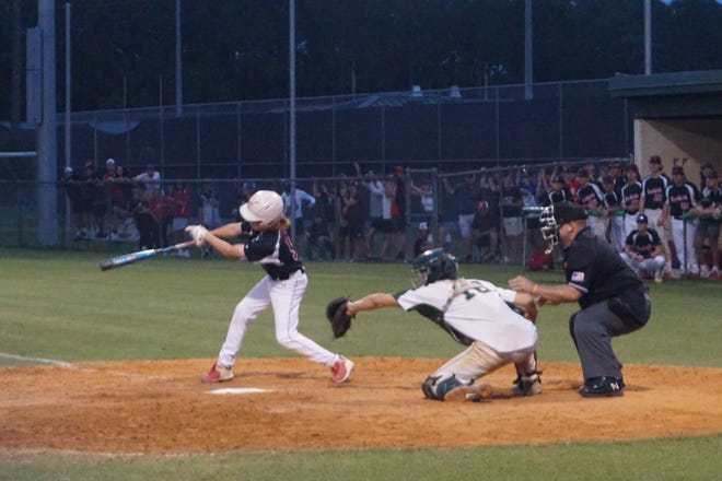 Creekside was three outs away from advancing before chaos ensued in the seventh.