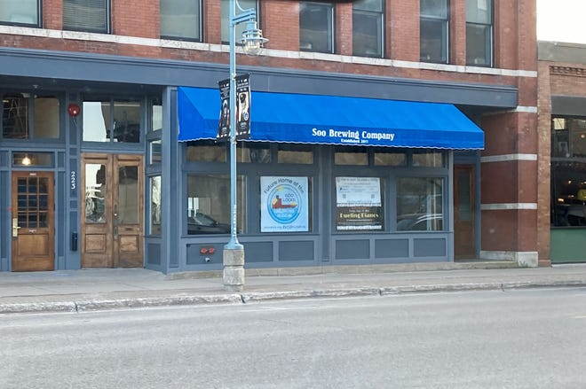 223 W. Portage Ave., as pictured.